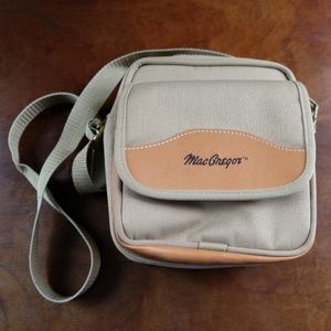 MacGregor Vintage Leather Canvas Camera Bag